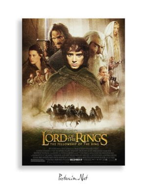 The Lord of the Rings: The Fellowship of the Ring film posteri
