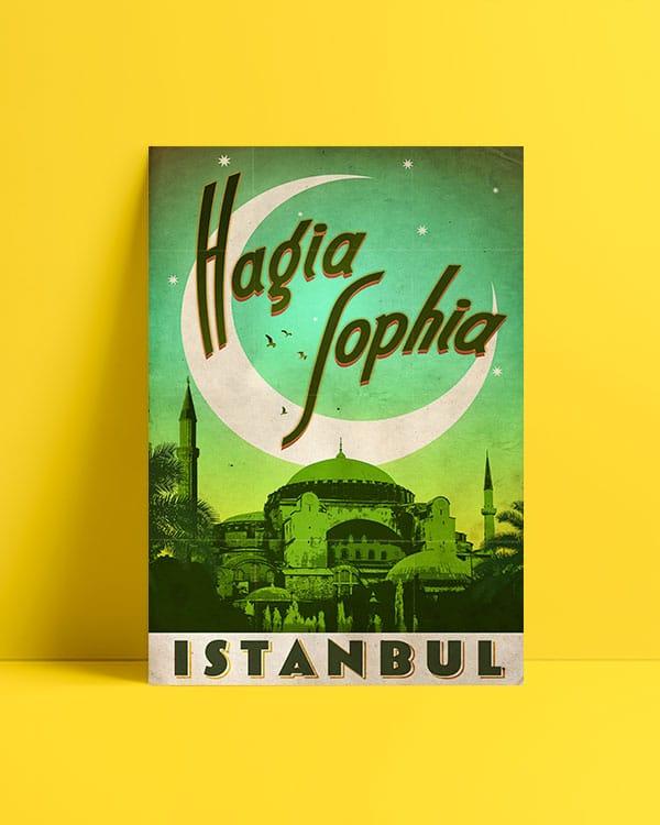 Ayasofya Posteri al