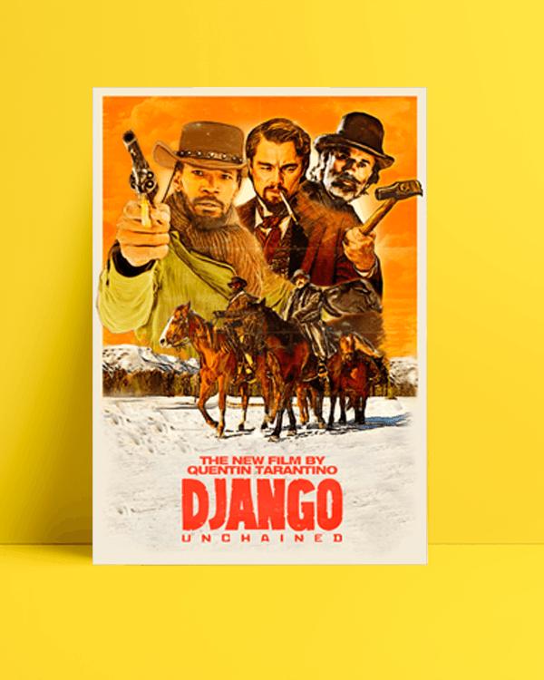 Django Unchained - Zincirsiz posteri