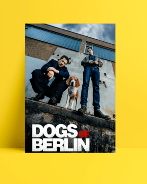 Dogs of Berlin dizi posteri al