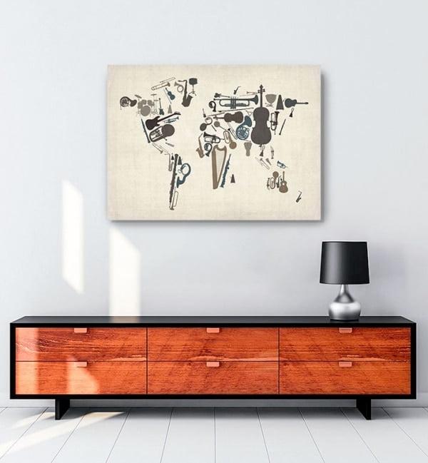 Dünya-Haritası—Enstrüman-posteri-1