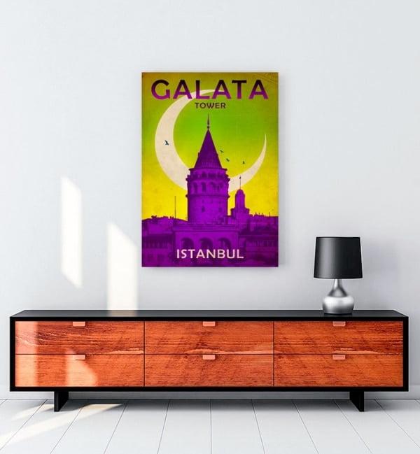 Galata Kulesi - Galata Tower Posteri