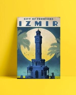 İzmir Saat Kulesi Posteri al