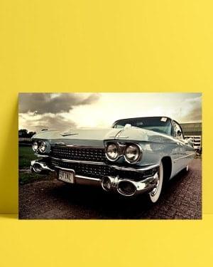 Klasik Otomobil Posteri al