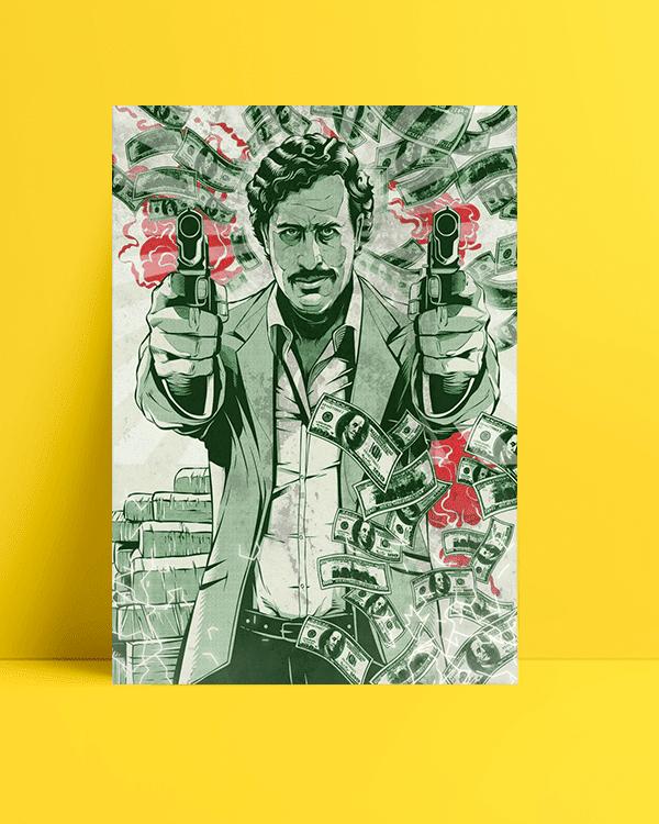 Narcos filmi pablo escobar Posteri al