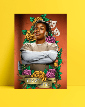 Orange is the New Black-Uzo Aduba (Crazy Eyes) posteri satın al