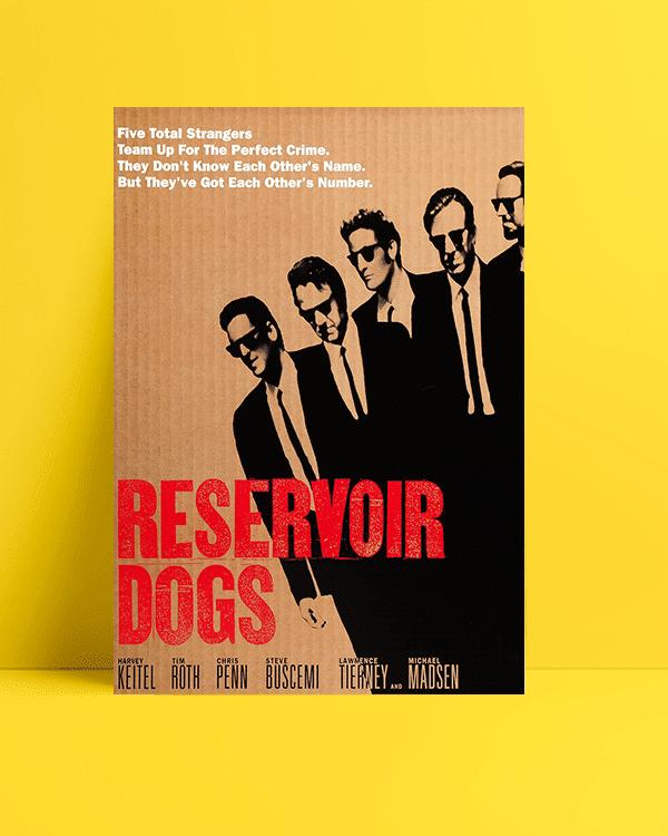 Reservoir Dogs - Rezervuar Köpekleri posteri
