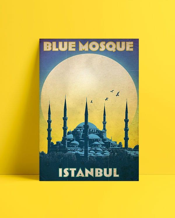 Sultanahmet - Blue Mosque Posteri al