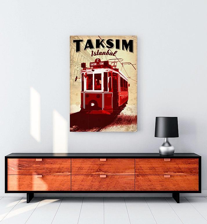 Taksim Tramvay Posteri