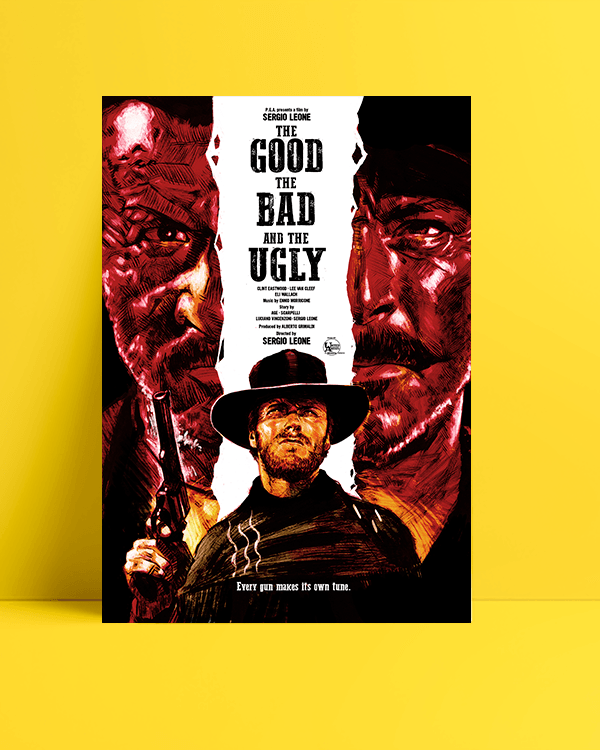 The-Good,-the-Bad-and-the-Ugly—İyi,-Kötü-ve-Çirkin-posteri