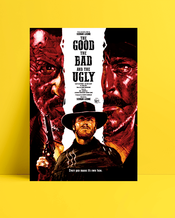 The Good, the Bad and the Ugly - İyi, Kötü ve Çirkin posteri
