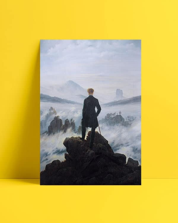 Wanderer-above-the-Sea-of-Fog-Bulutların-üzerinde-yolculuk-posteri-2