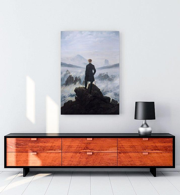 Wanderer-above-the-Sea-of-Fog-Bulutların-üzerinde-yolculuk-posteri-al