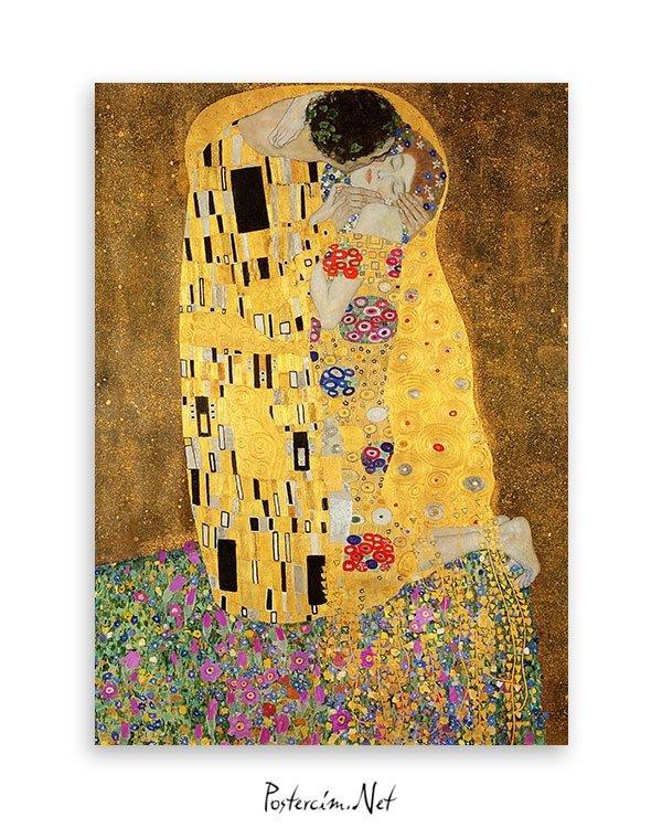 gustav-klimt-kiss-opucuk-poster
