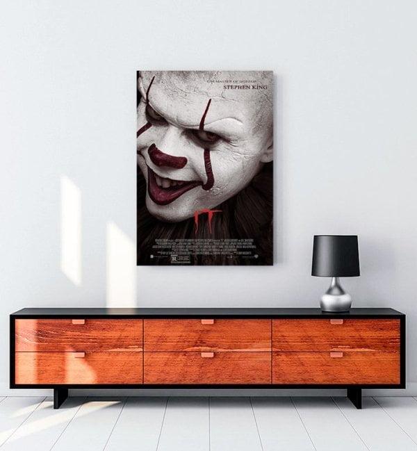 it-2017-film-kanvas-tablo