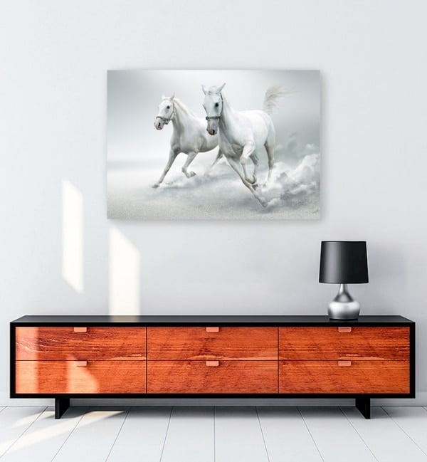 kosan-beyaz-atlar-kanvas-tablo-satin-al