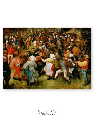Pieter Bruegel The Wedding Dance poster