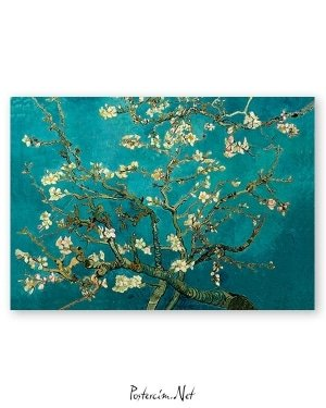 Van Gogh çiçek açan badem ağacı poster satın al