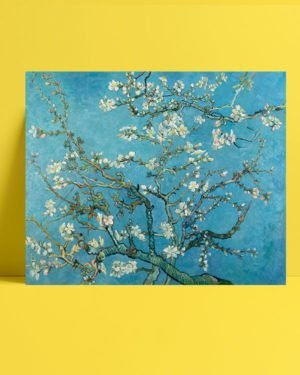 Van Gogh Blossoming Almond tablosu