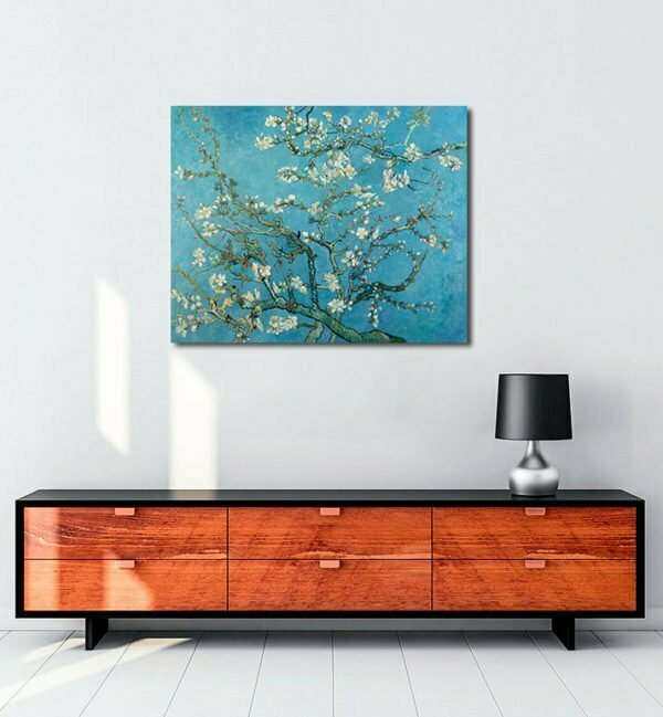 Van Gogh Blossoming Almond tablosu
