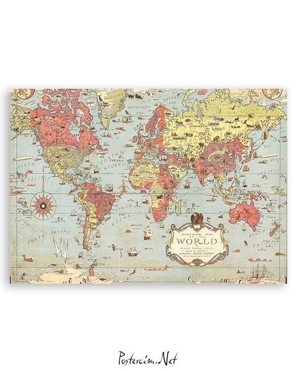 vintage-dünya-haritası-2