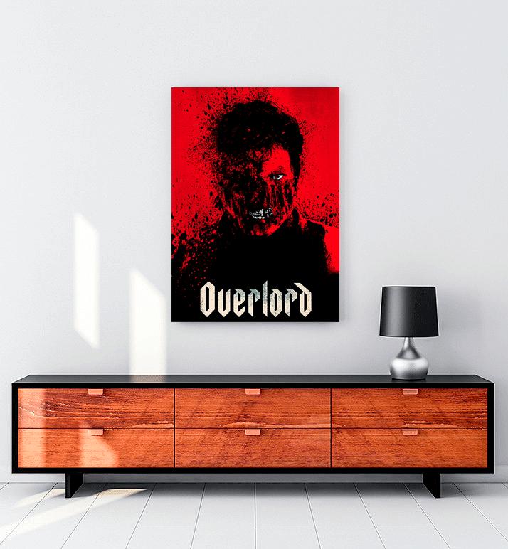 Overlord operasyonu film kanvas tablo