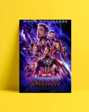 Avengers: Endgame Afiş