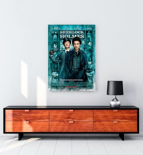 Sherlock Holmes Kanvas Tablo