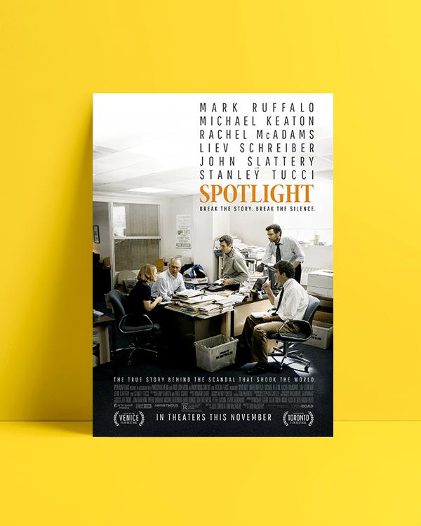 Spotlight afiş