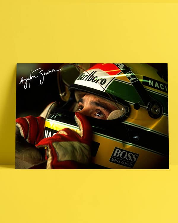 Ayrton Senna Afiş
