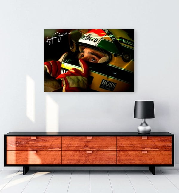 Ayrton Senna Kanvas Tablo