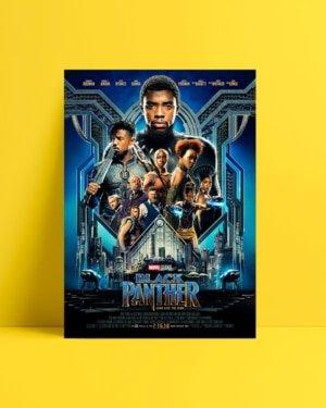 Black Panther Afiş