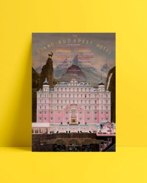 The Grand Budapest Hotel afiş