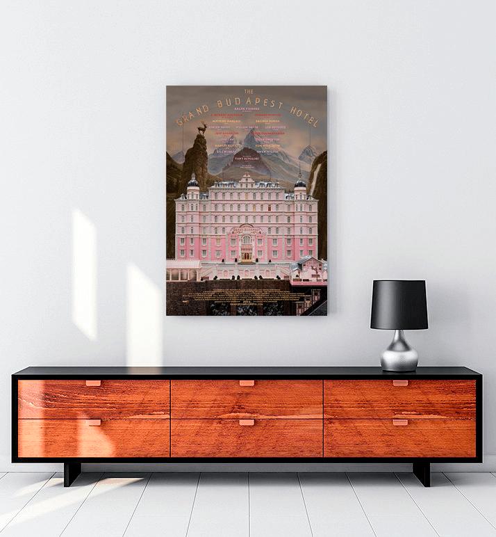 The Grand Budapest Hotel kanvas tablo