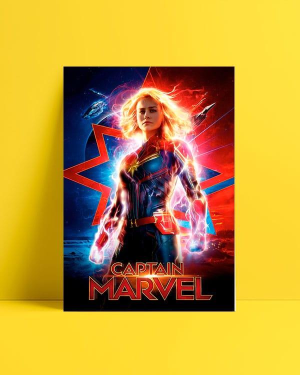 Captain Marvel Afiş