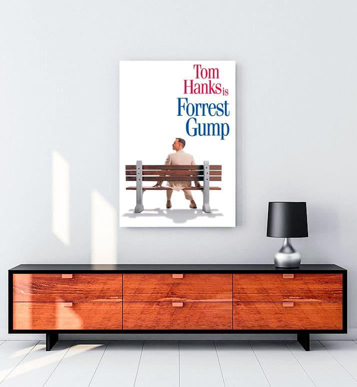 Forrest Gump Kanvas Tablo
