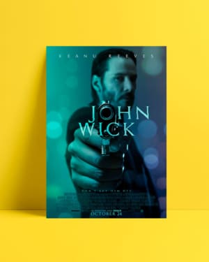 John Wick 2014 Afiş