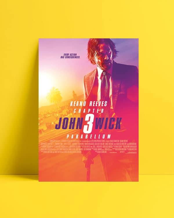 John Wick 3 Parabellum Afiş