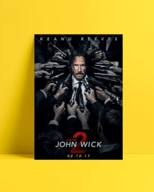 John Wick 2 Afiş