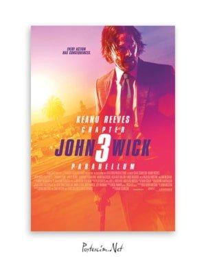 John Wick 3 Parabellum Poster