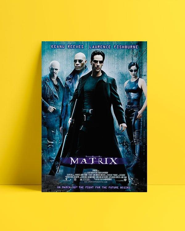 Matrix 1999 Afiş