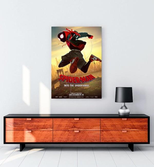 Örümcek-Adam: Örümcek Evreninde Kanvas Tablo