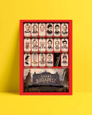 Büyük Budapeste Oteli afiş