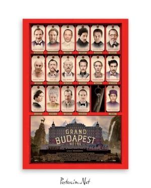 Büyük Budapeste Oteli poster