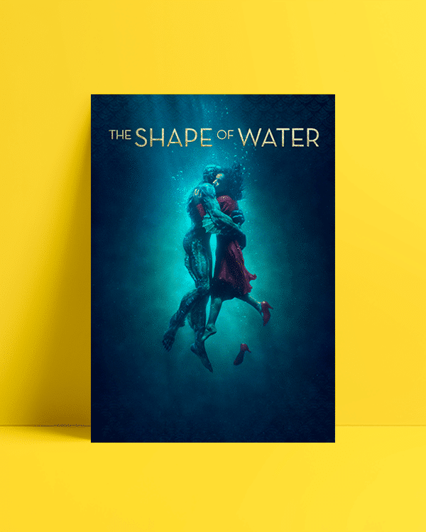 The Shape of Water Afiş