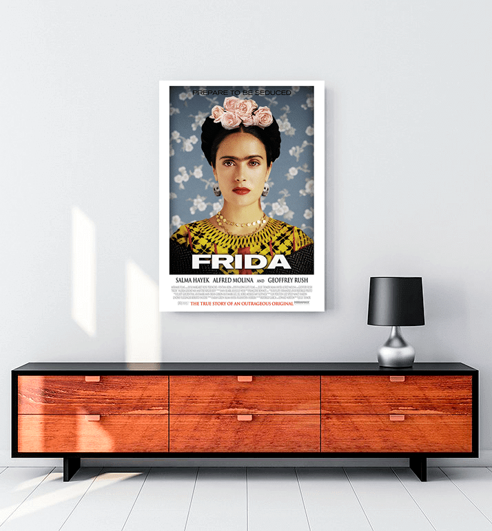 Frida 2002 film kanvas tablo