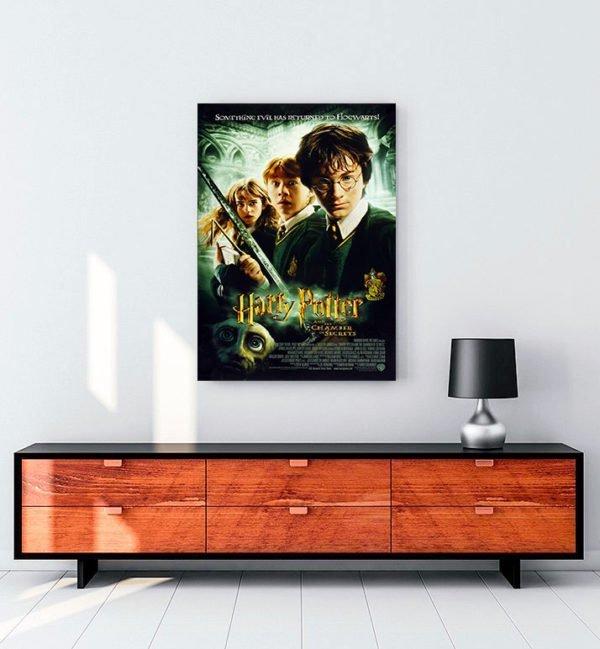 Harry Potter ve Sırlar Odası Kanvas Tablo