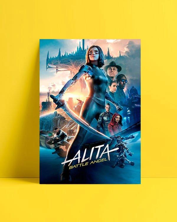 Alita: Savaş Meleği Afiş