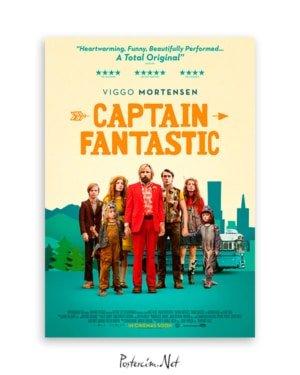 Kaptan Fantastik Film Posteri