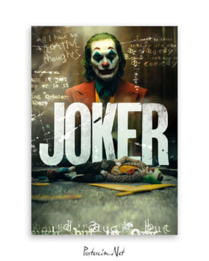 Joker 2019 Movie Poster afişi